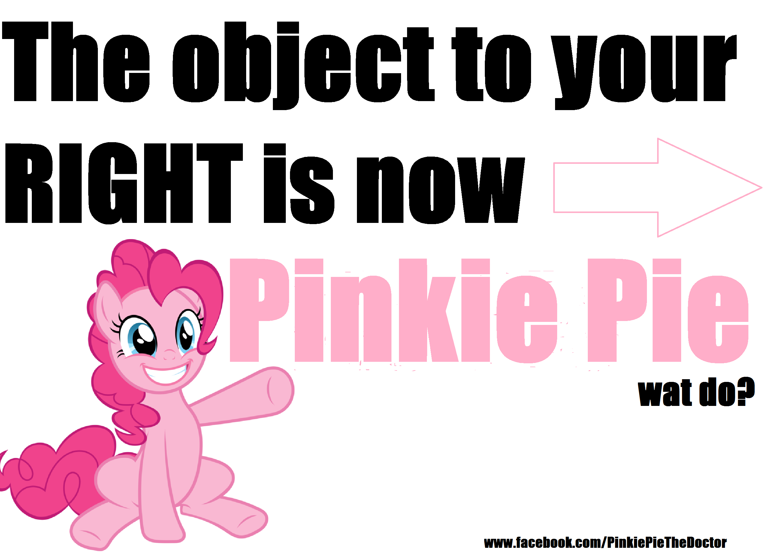 f3e pinkie pie object to right my little pony friendship is magic