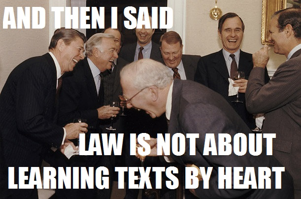 118 law and then i said know your meme,Meme Law