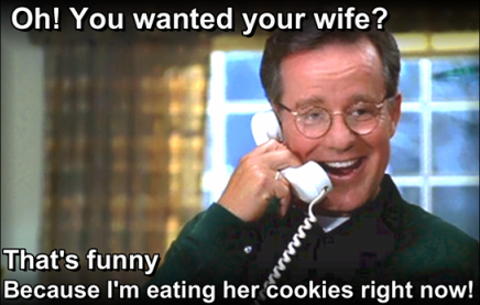 Funny Memes For Your Wife : Phil hartman s cookies put that cookie down know your meme