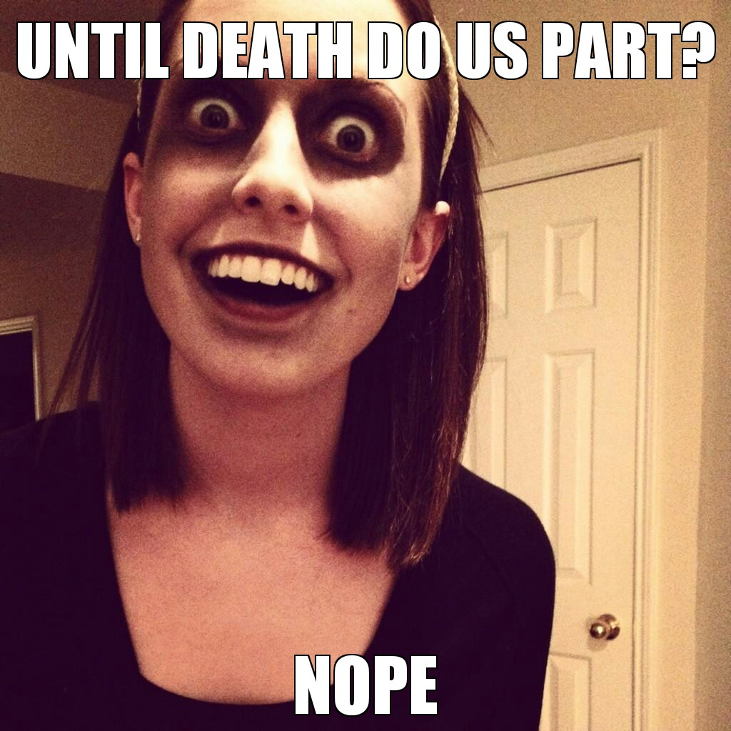overly attached girlfriend meme eggs - photo #31