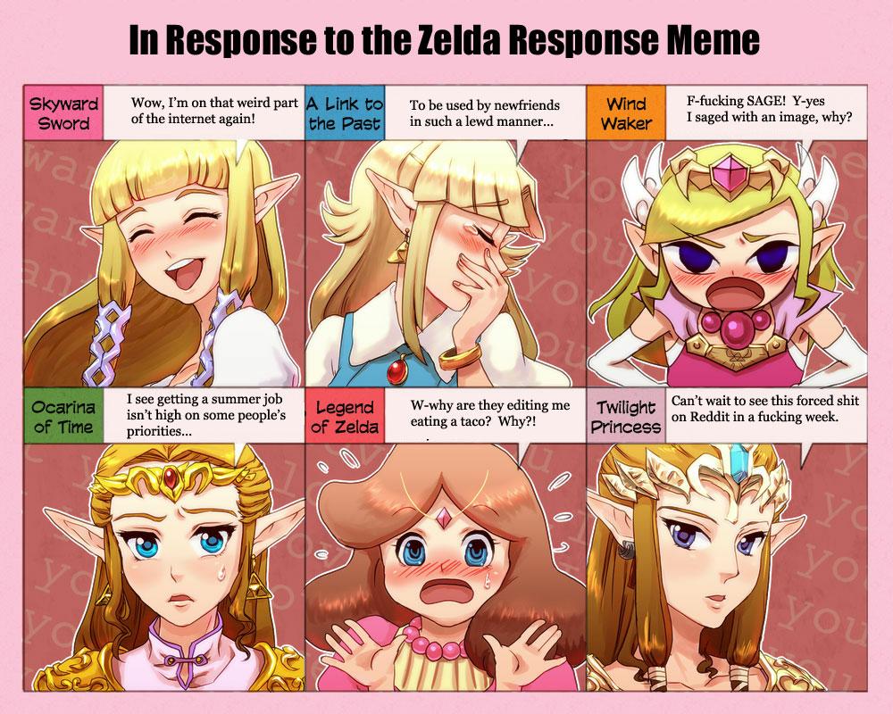 Zelda's Response | Know Your Meme