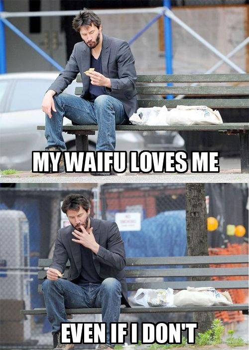 9eb my waifu loves me waifu know your meme