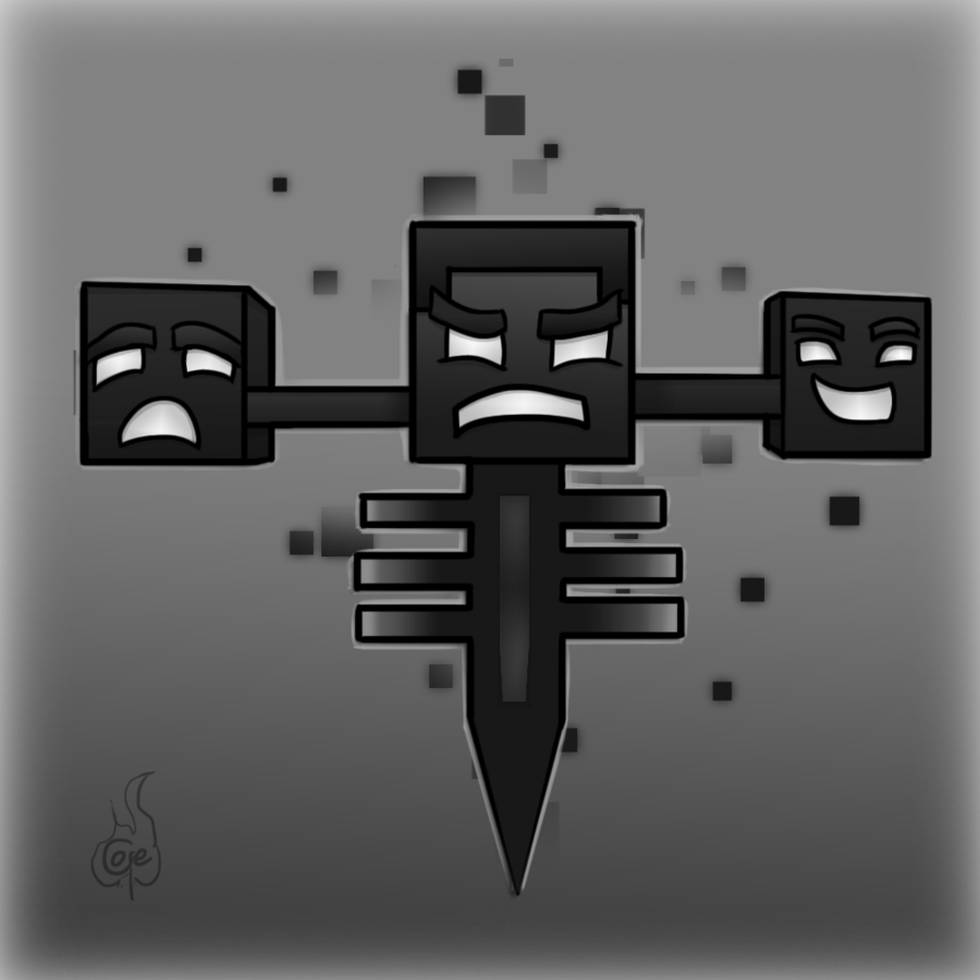 minecraft how to build a wither