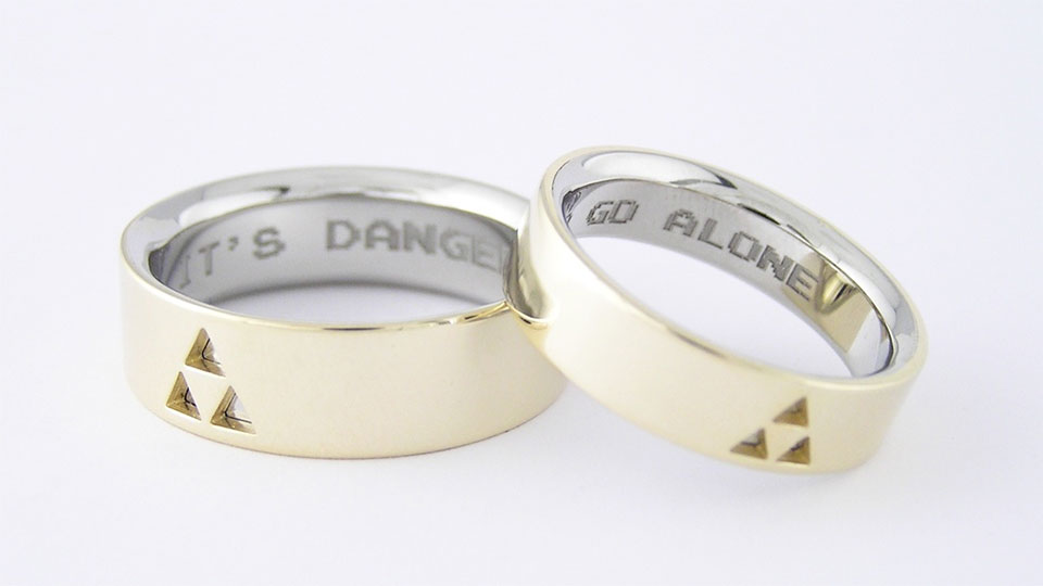 ring different geekdom dbz wedding rings epic anime