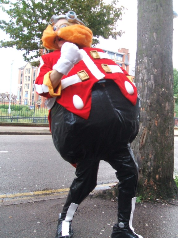 Horrifying Eggman Cosplay Sonic The Hedgehog Know Your