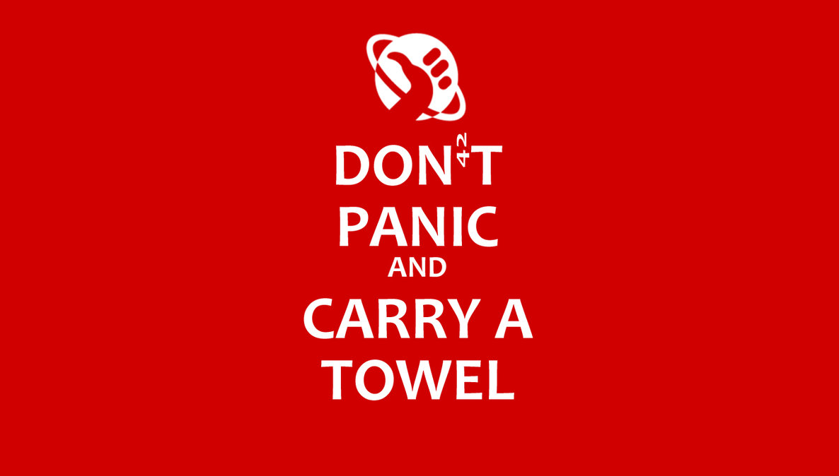 towel day 2018