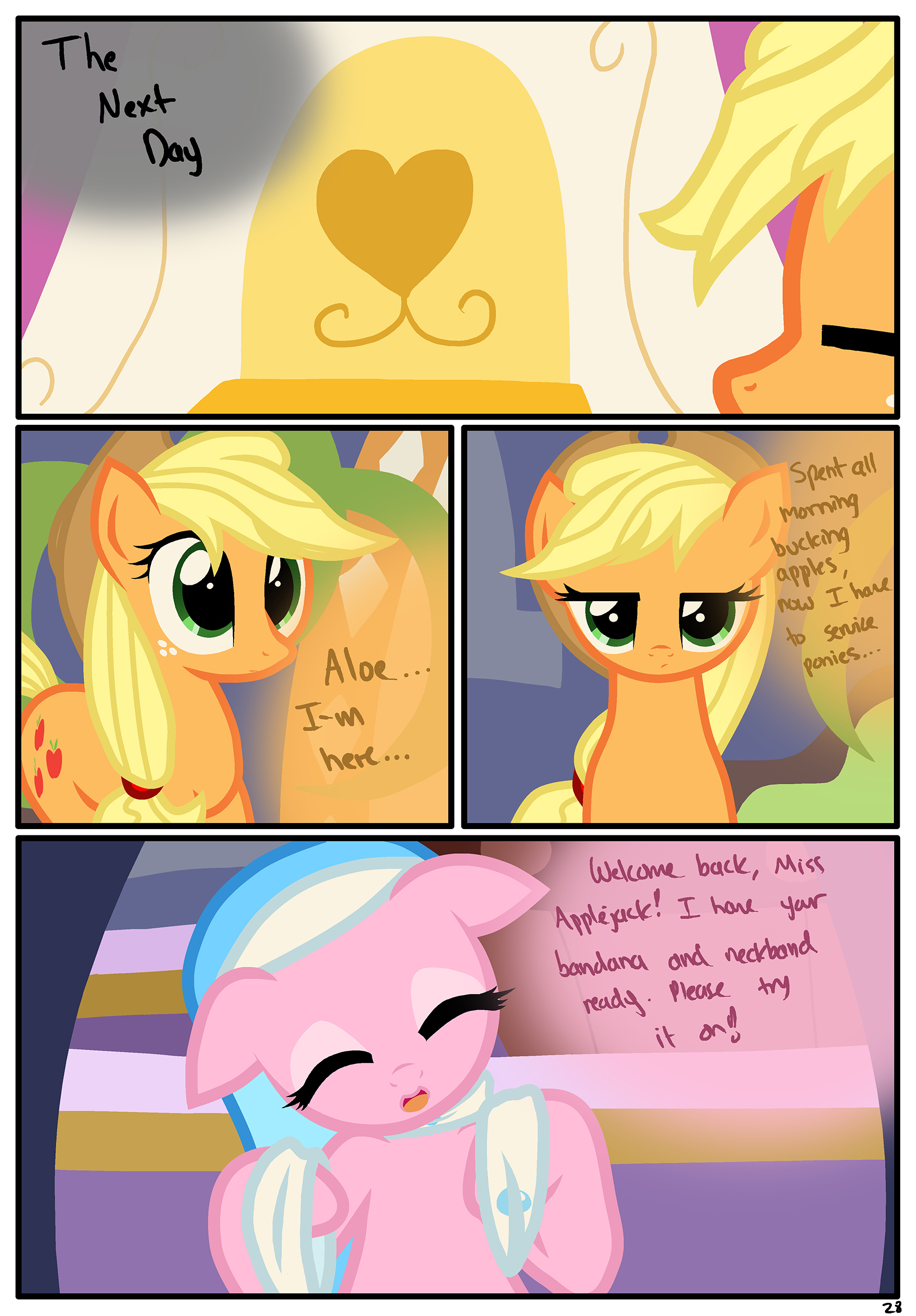 the usual part page my little pony friendship is