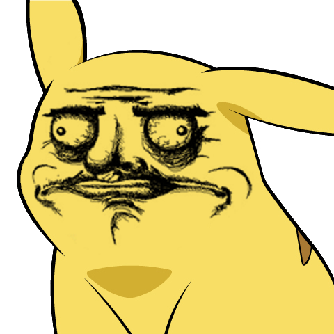 865 pika gusta give pikachu a face know your meme