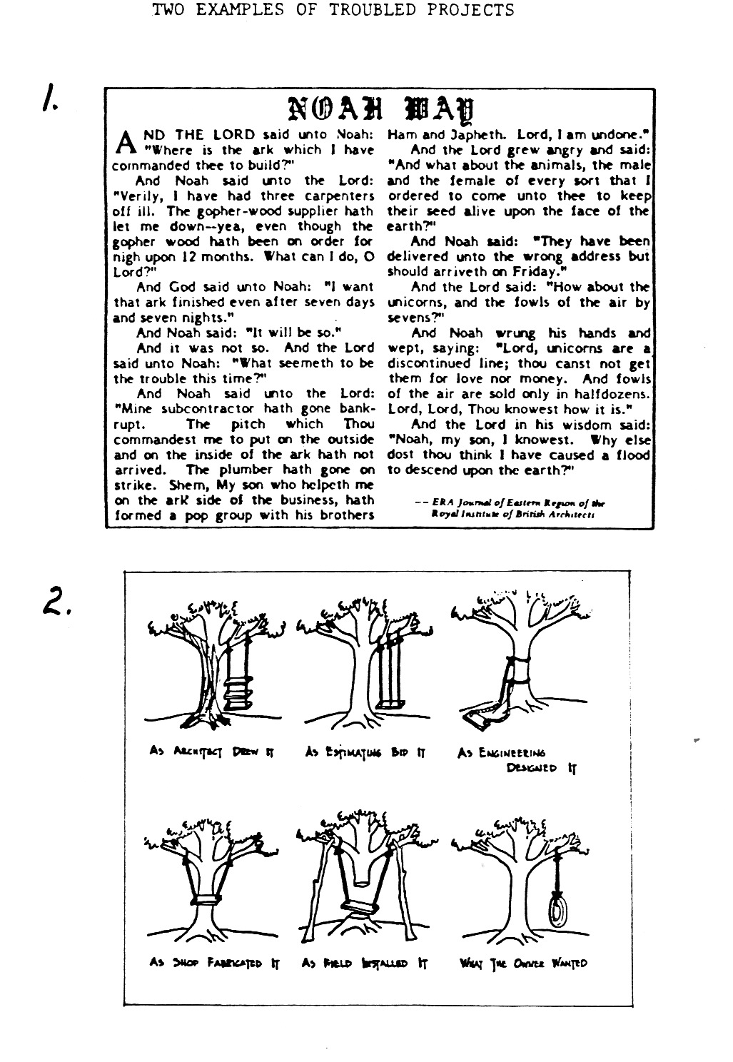 Tree swing meme what the customer really wanted - Tree Swing Cartoon Parodies