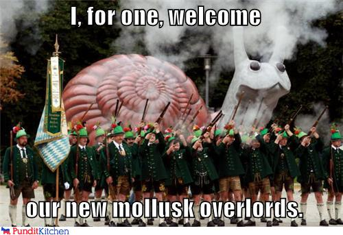 e02 the snails shall reign supreme i, for one, welcome our new,I For One Welcome Meme