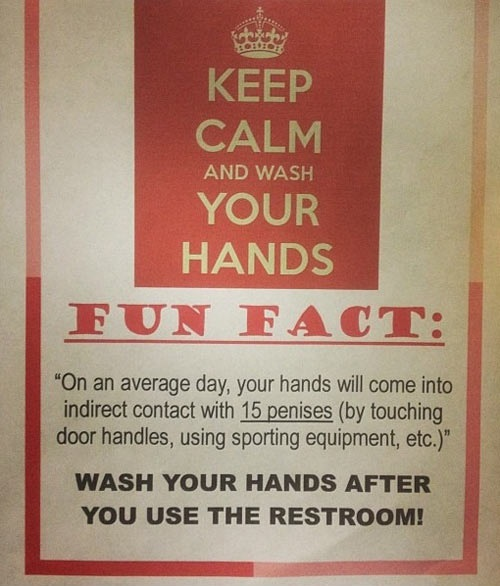bc0 fun facts on washing your hands keep calm and carry on know