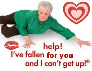 help ive fallen for you and i cant get up