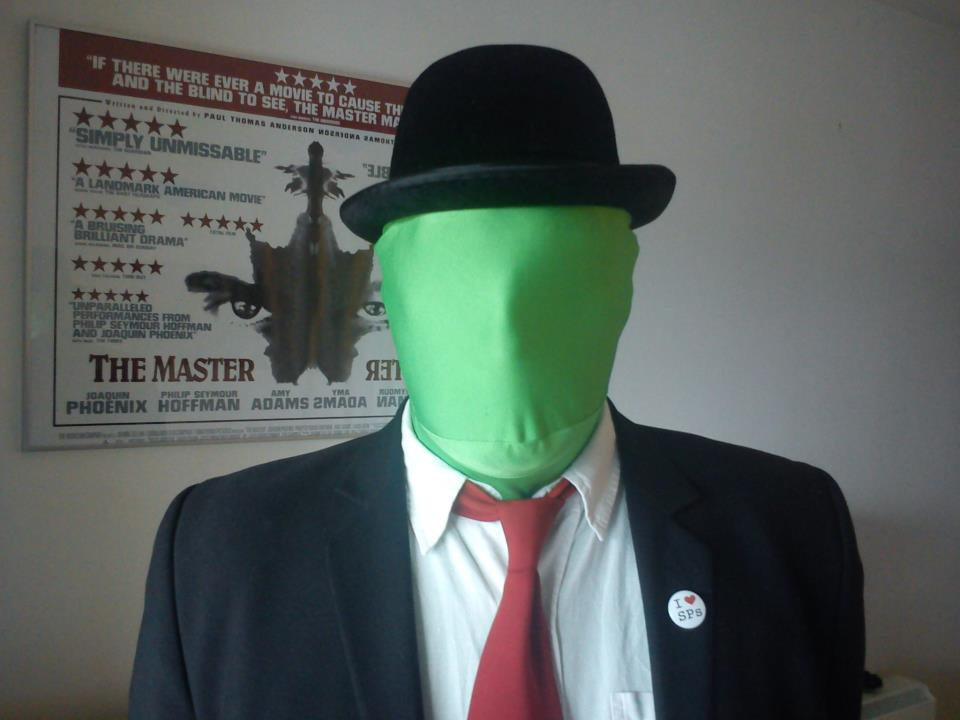 anonymous green man - photo #5