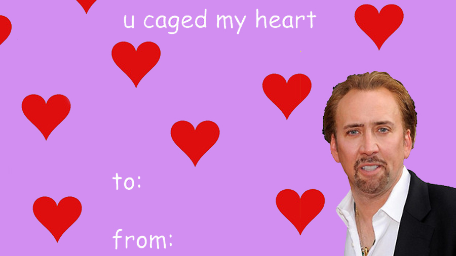 u caged my heart to 0 from love valentines day - E Valentines Cards