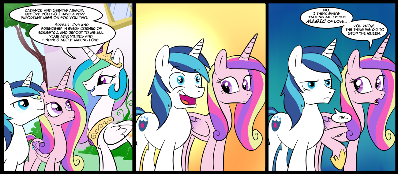 Oh Shinning Armor My Little Pony Friendship Is Magic