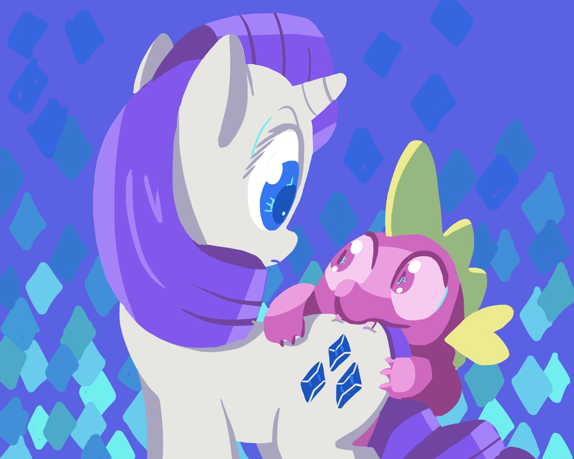 double art and diamond deviantart on rarity by