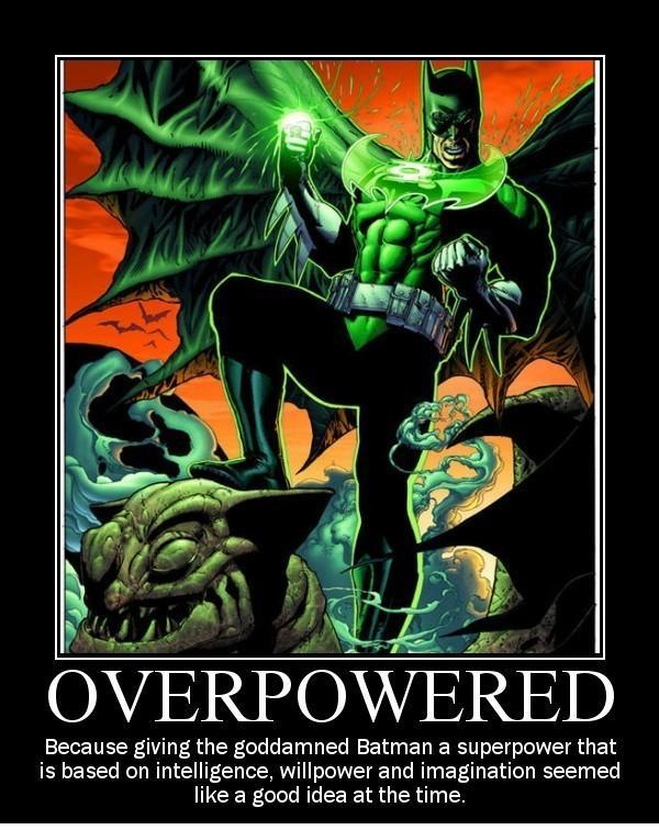 fb8 batman as a green lantern alternate universe know your meme