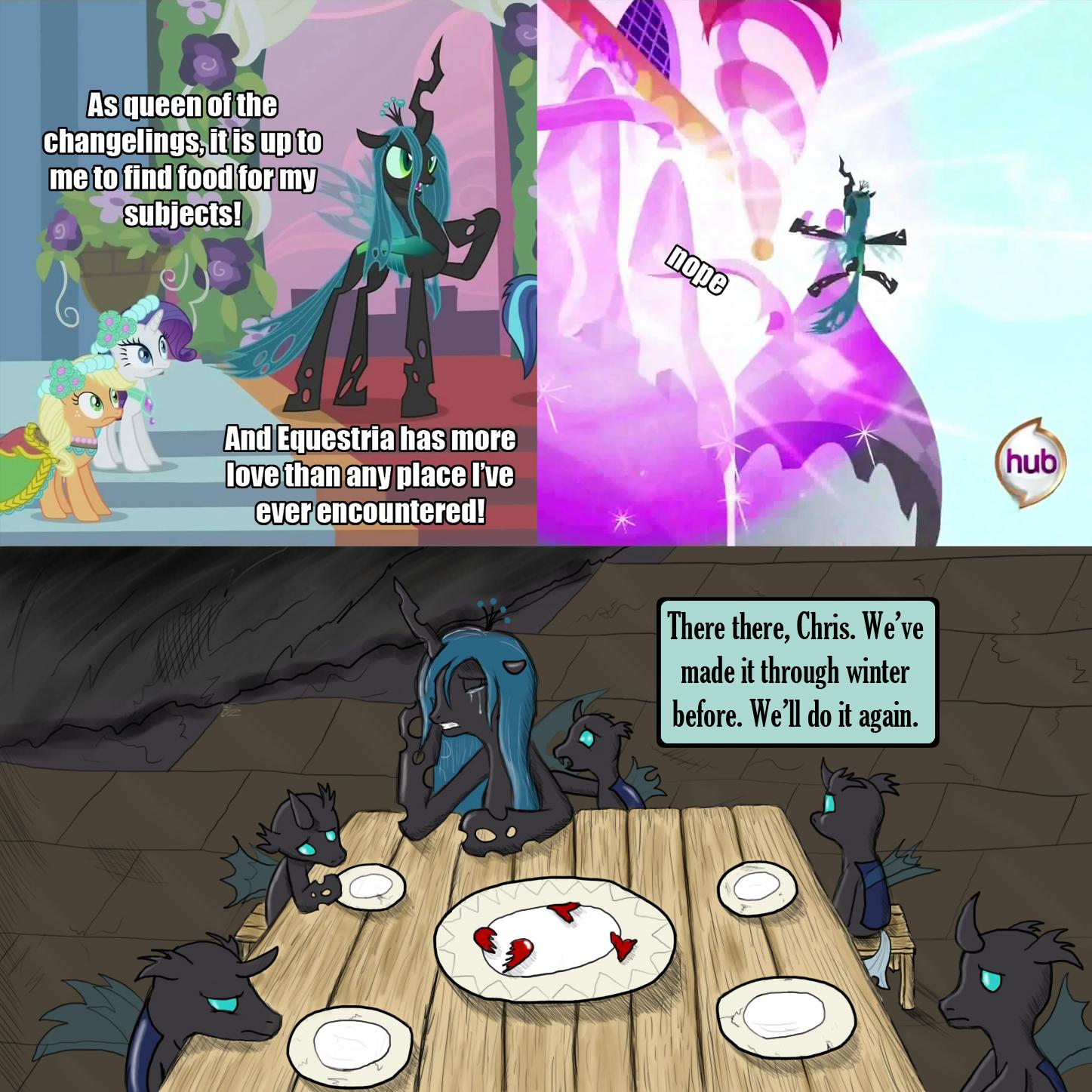 Farmer Chrysalis | My Little Pony: Friendship is Magic | Know Your Meme