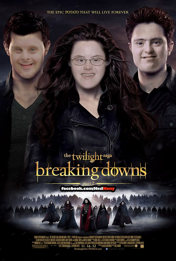 Breaking Downs   Twilight   Know Your Meme Down Syndrome Meme Funny