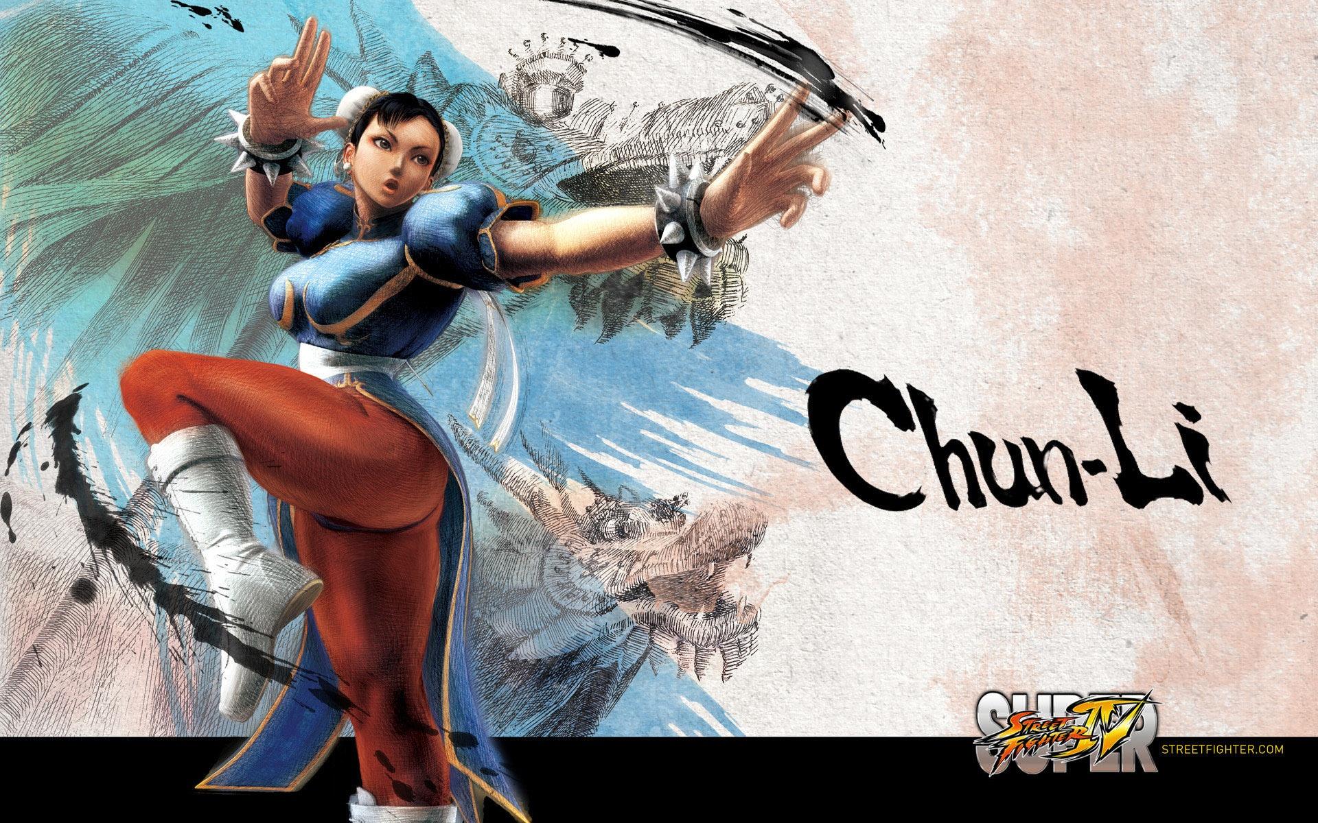 Street Fighter 4 Wallpapers: Super Street Fighter IV Character Wallpaper