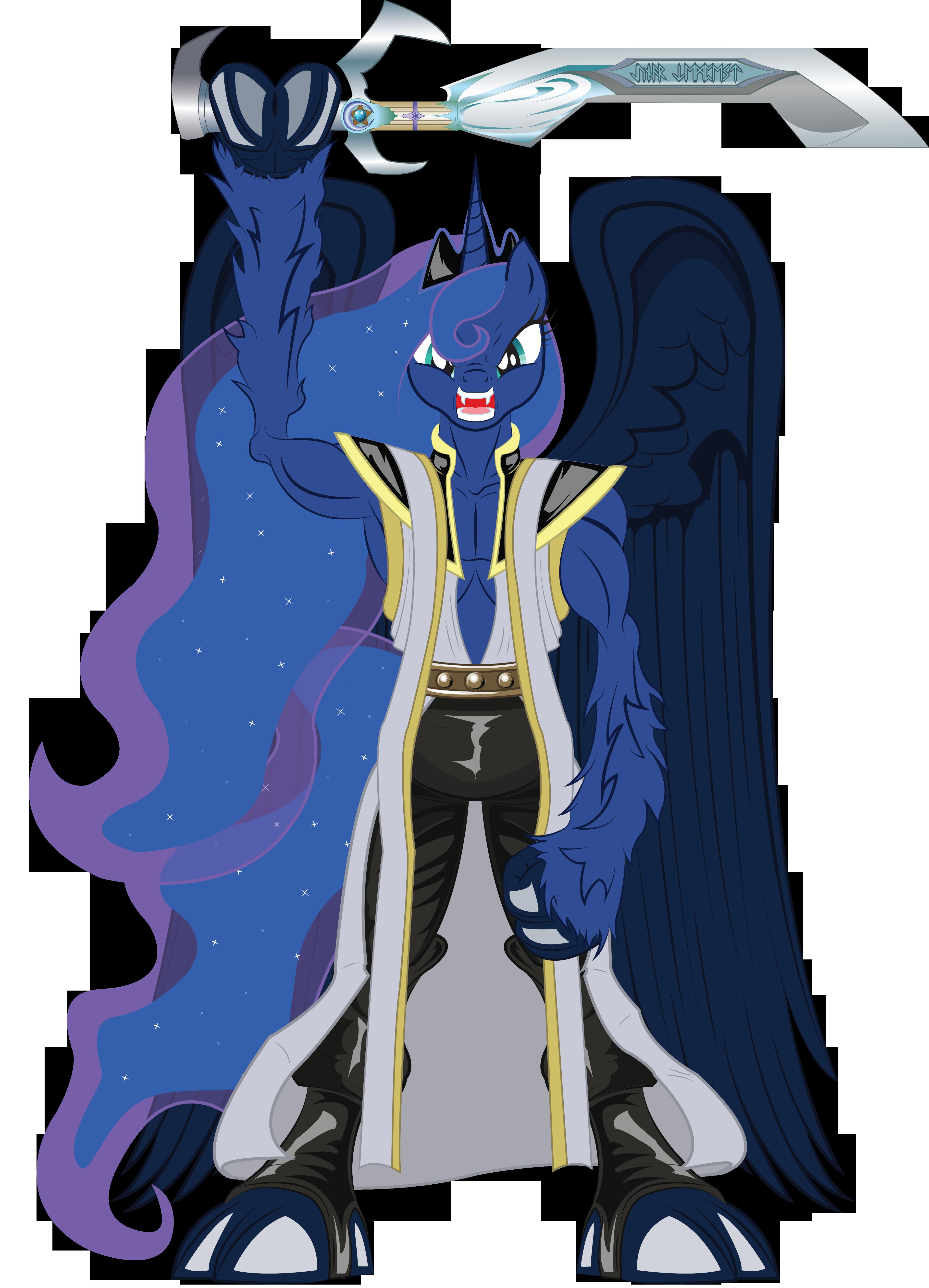 Princess Luna as Janos Audron  My Little Pony Friendship is