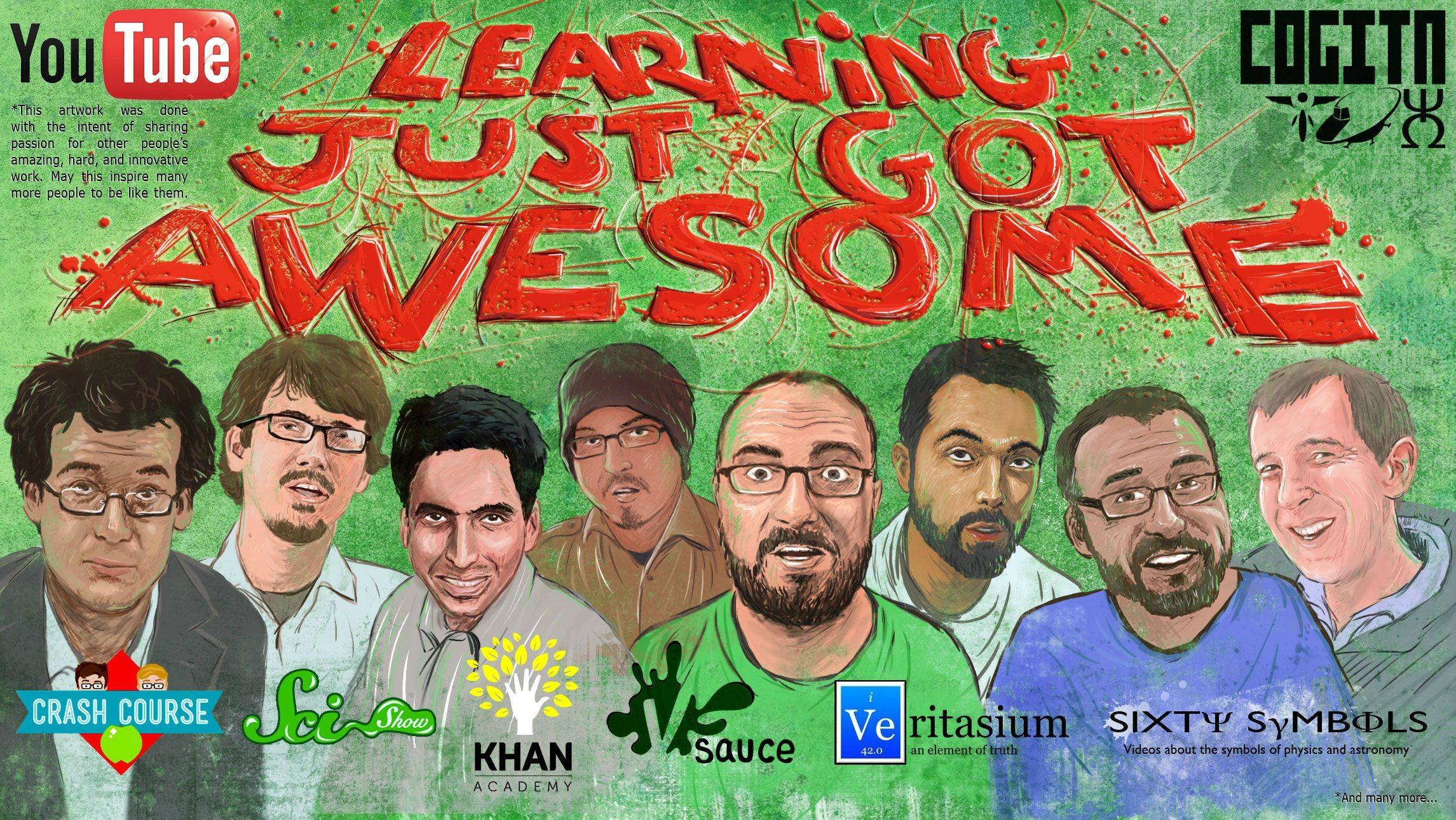 Learning is Awesome Vsauce