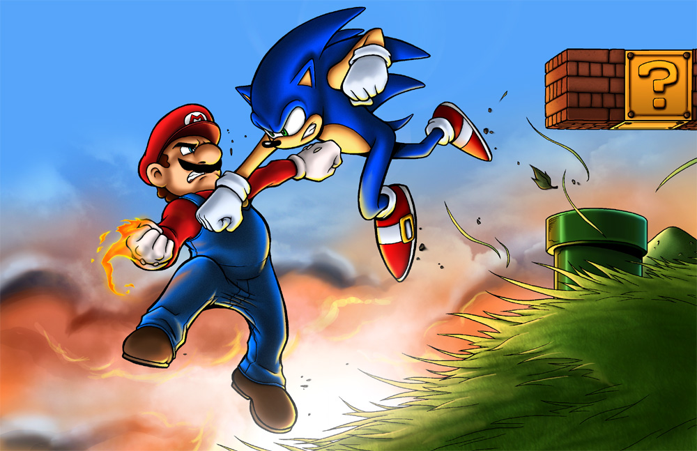 Mario vs sonic super mario know your meme mario sonic at the olympic games super mario bros super mario world sonic adventure altavistaventures Gallery