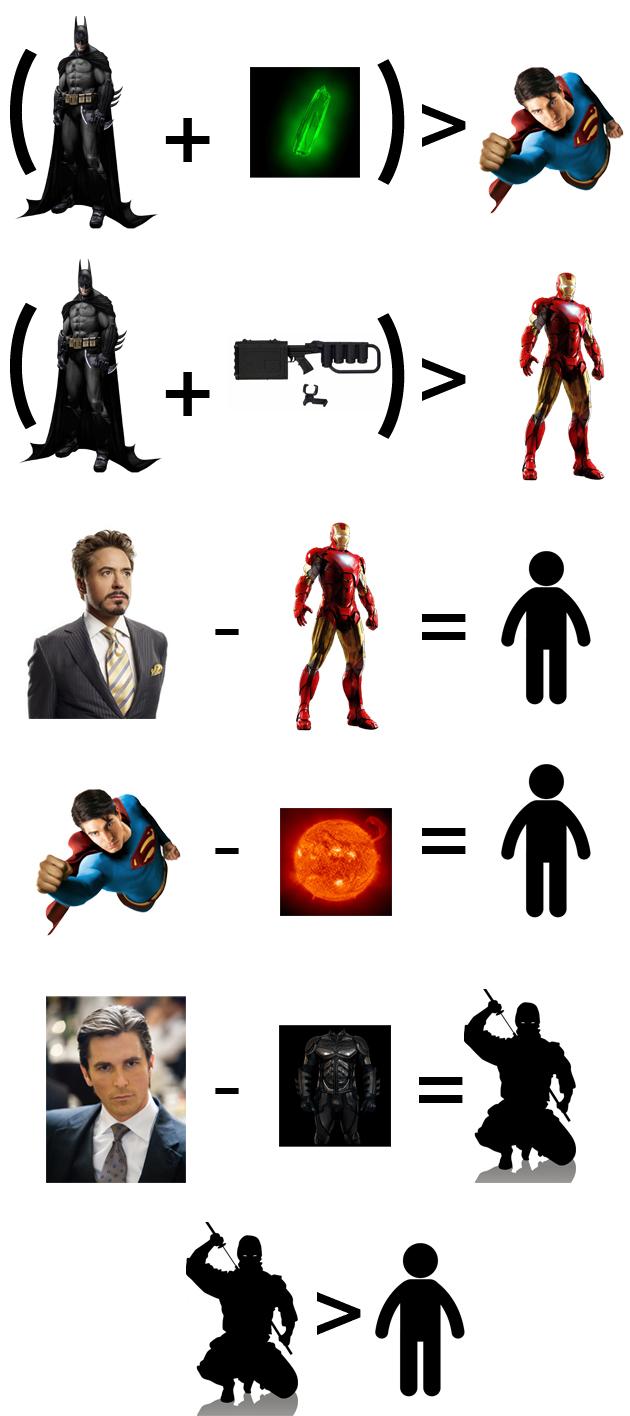 batman vs ironman vs superman batman superman iron man