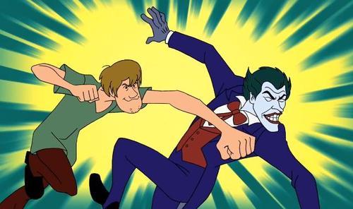 232 shaggy versus the joker scooby doo know your meme