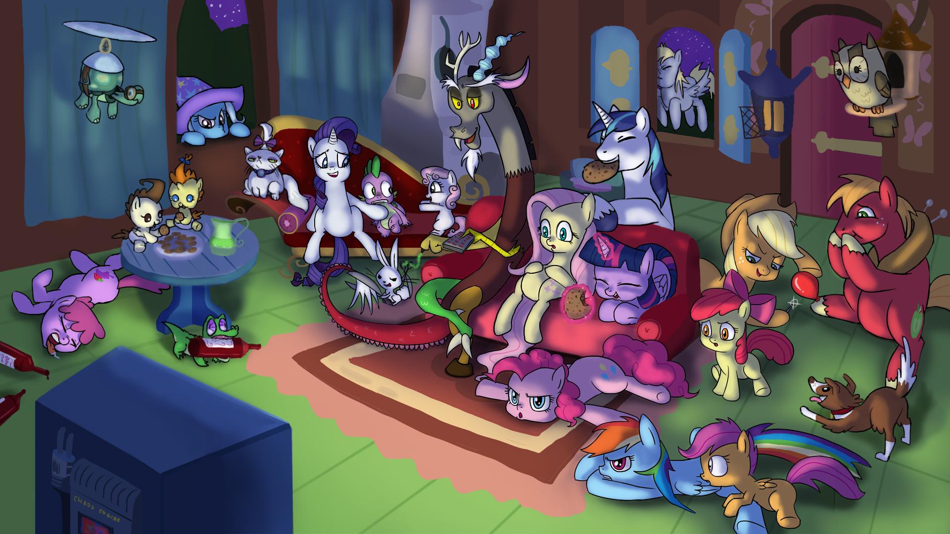 Movie Night My Little Pony Friendship Is Magic Know