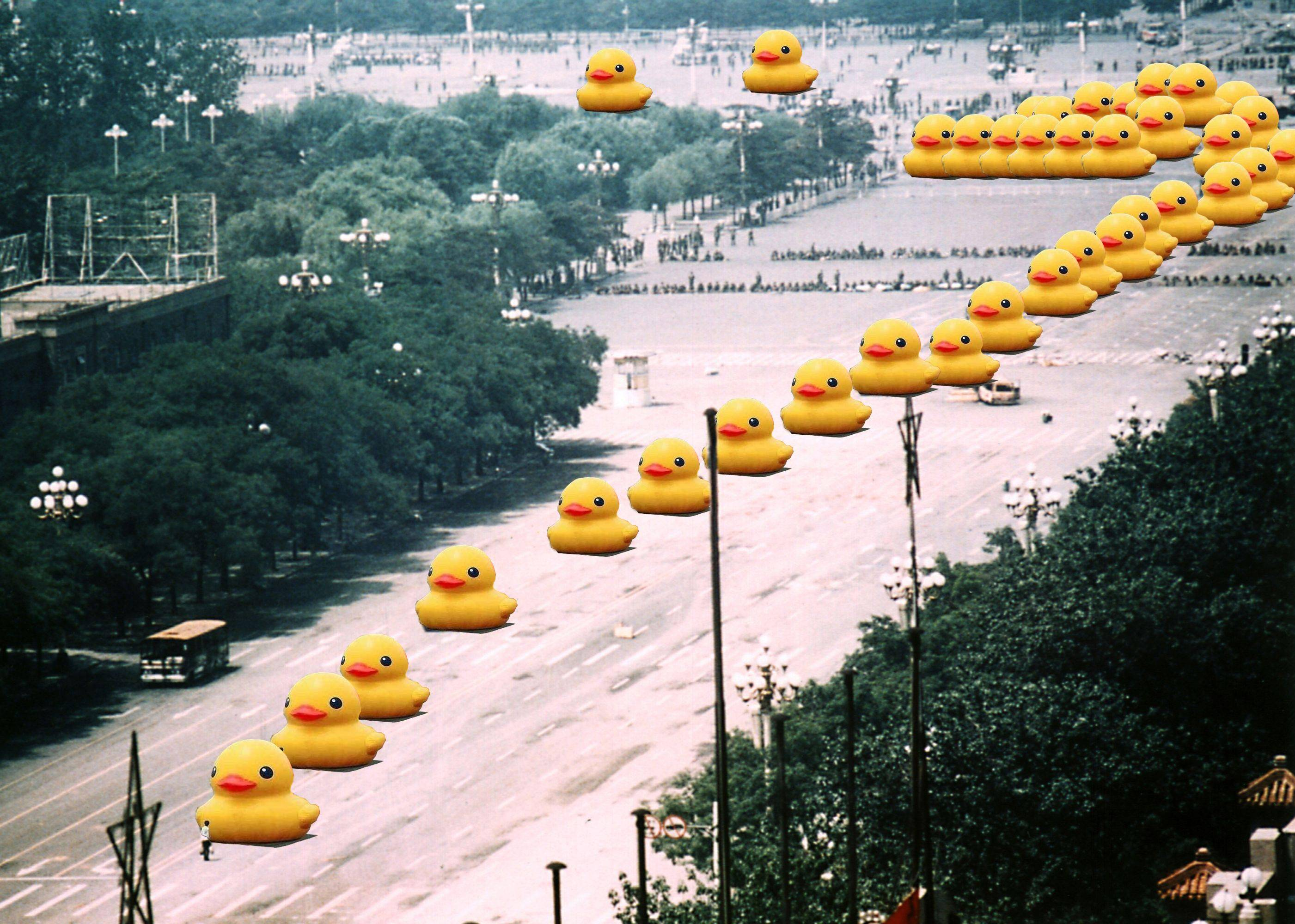 big yellow duck know your meme
