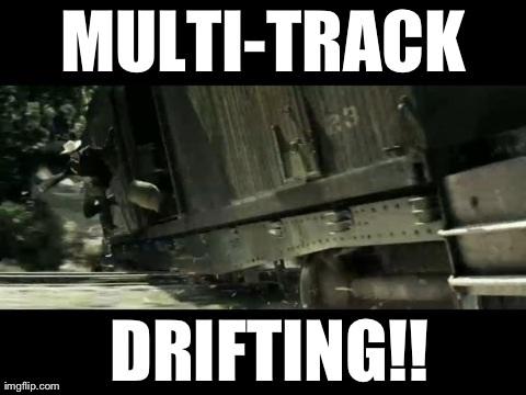 769 lone ranger multi track drifting multi track drifting know,The Lone Ranger Meme