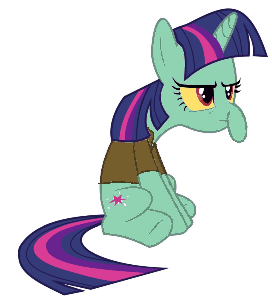 twilight as squidward my little pony friendship is magic know
