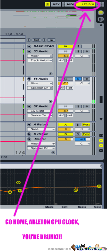 a66 go home ableton, you're drunk! go home, you are drunk know