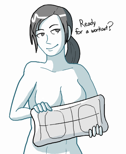 Naked wii girl — photo 5
