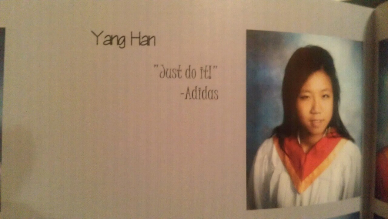 Senior Yearbook Quotes Just Do It  High School Senior Yearbook Photos  Know Your Meme