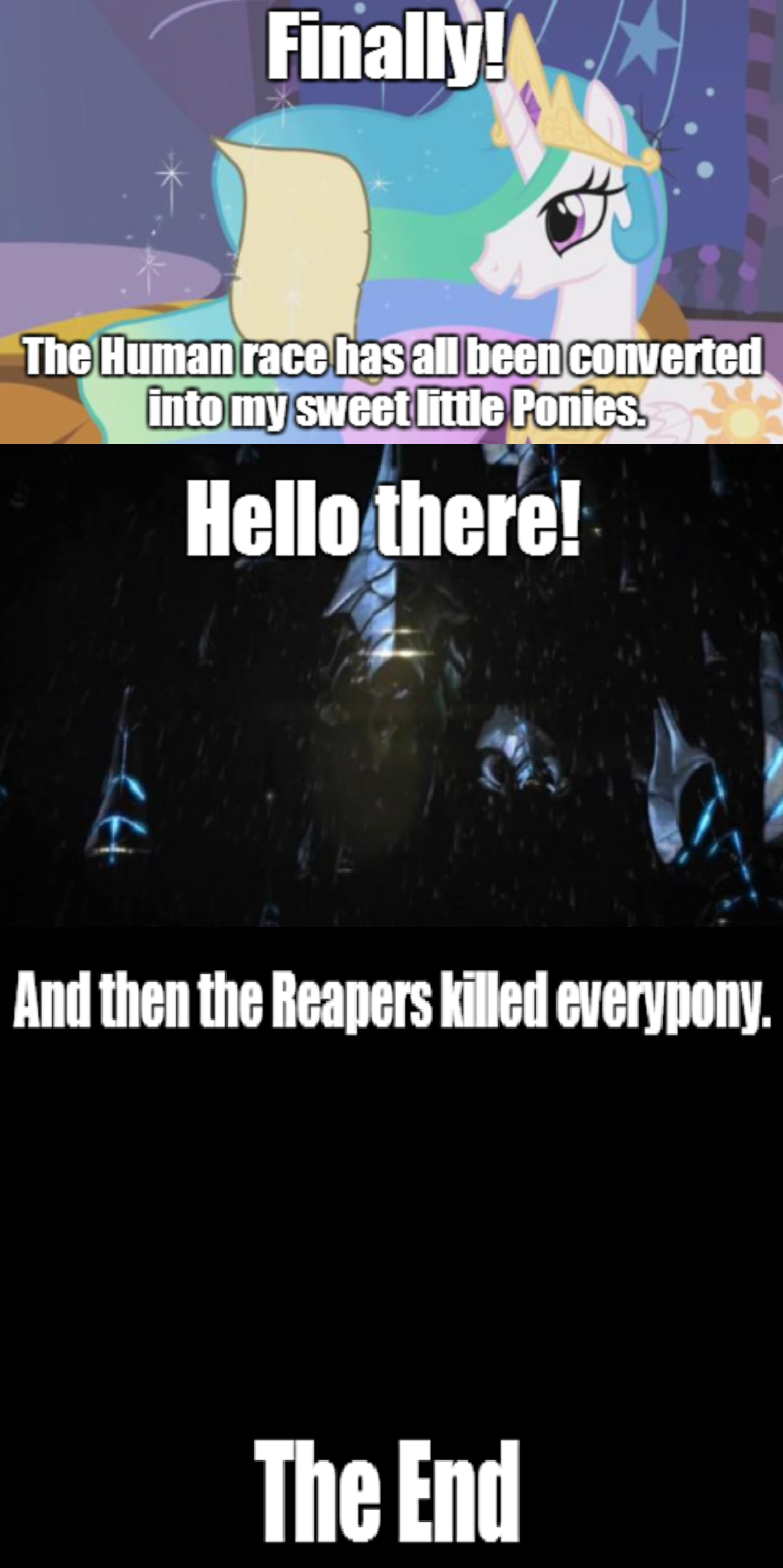 The Conversion Bureau Meets The Reapers My Little Pony
