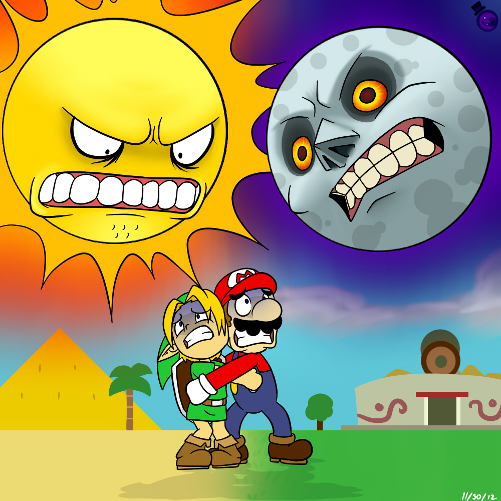 Link S And Mario S Nightmare Childhood Enhanced Know