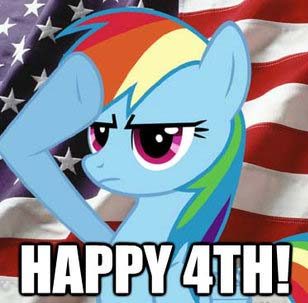 6c9 happy 4th! my little pony friendship is magic know your meme
