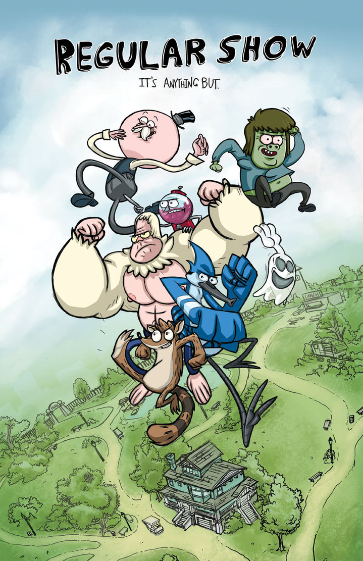 Image 581538 regular show know your meme regular show its anthng but mitch muscle man sorenstein rigby mordecai hi five ghost voltagebd Choice Image