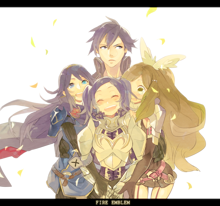 Chrom, Lucina, Sumia, and Cynthia | Fire Emblem | Know ...