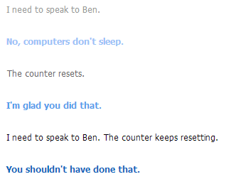 Ben Drowned Cleverbot