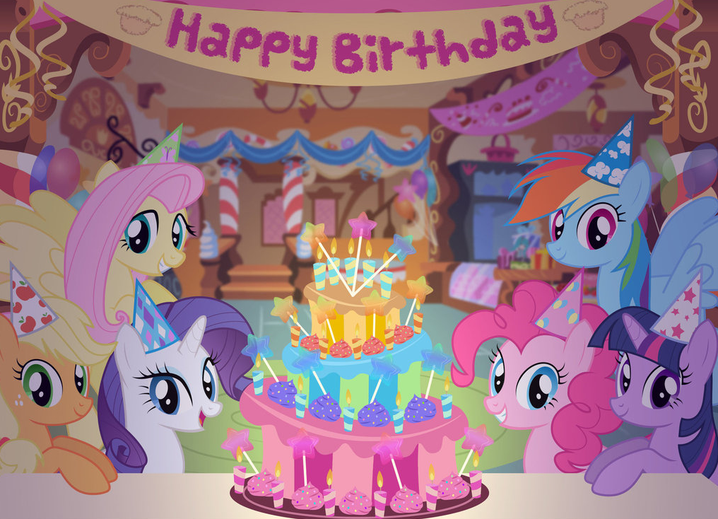 Happy Birthday My Little Pony Friendship is Magic Know Your Meme