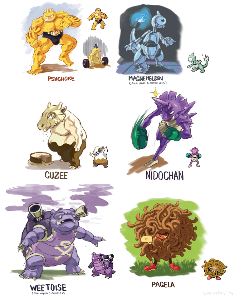 Connu Image - 596687] | Pokefusion / Pokemon Fusion | Know Your Meme QQ74