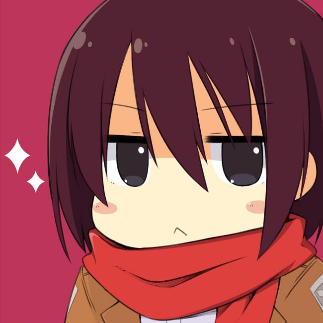 Image 603064 attack on titan shingeki no kyojin for Mikasa es su casa