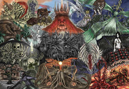 Dark Souls Dark Souls II Art