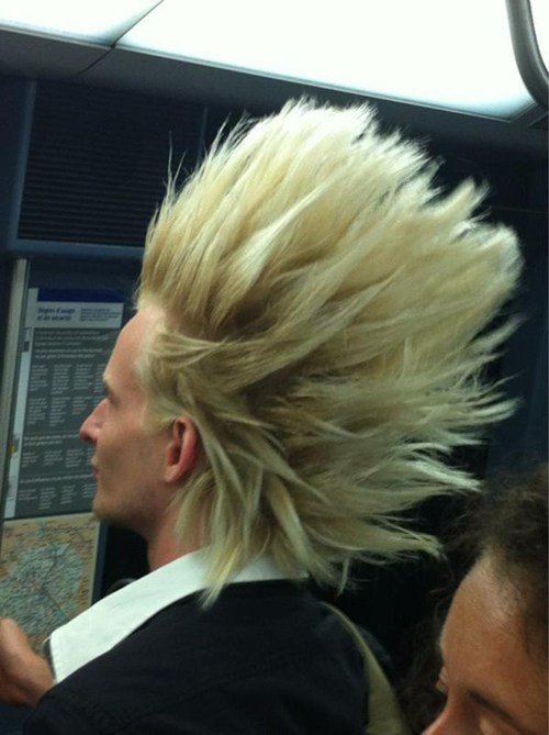 Goku Trunks Hair Human Color Hairstyle Blond Chin Forehead