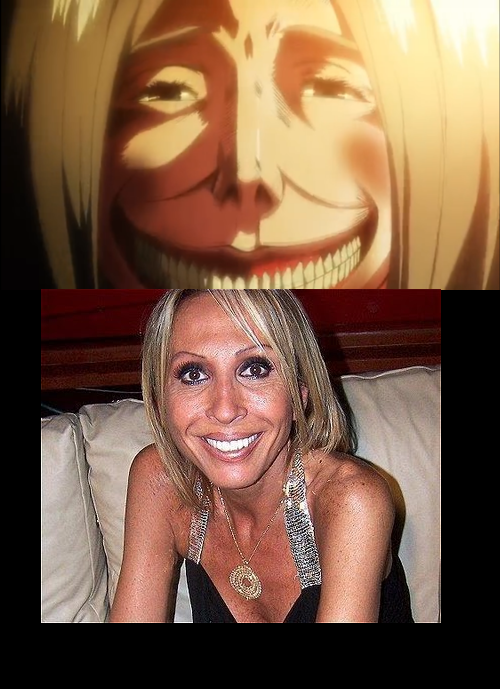 67b laura bozzo attack on titan shingeki no kyojin know your meme