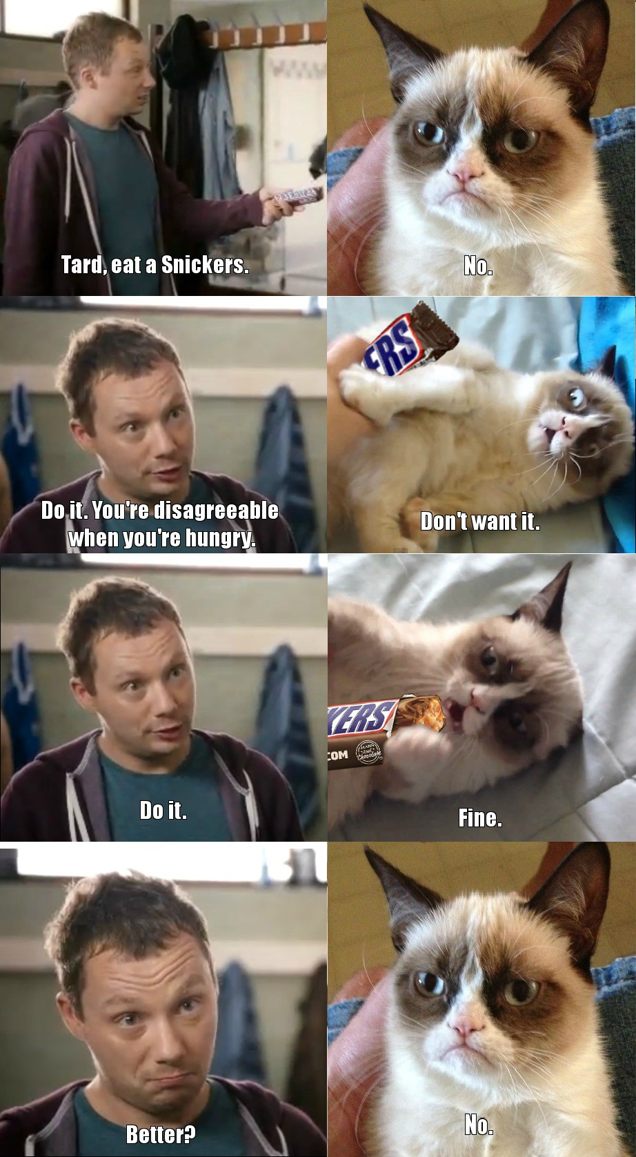 The best snickers memes :) Memedroid |Snickers Meme