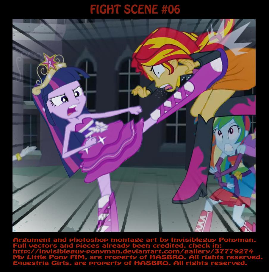 FIGHT SCENE #06   My Little Pony: Friendship is Magic ...